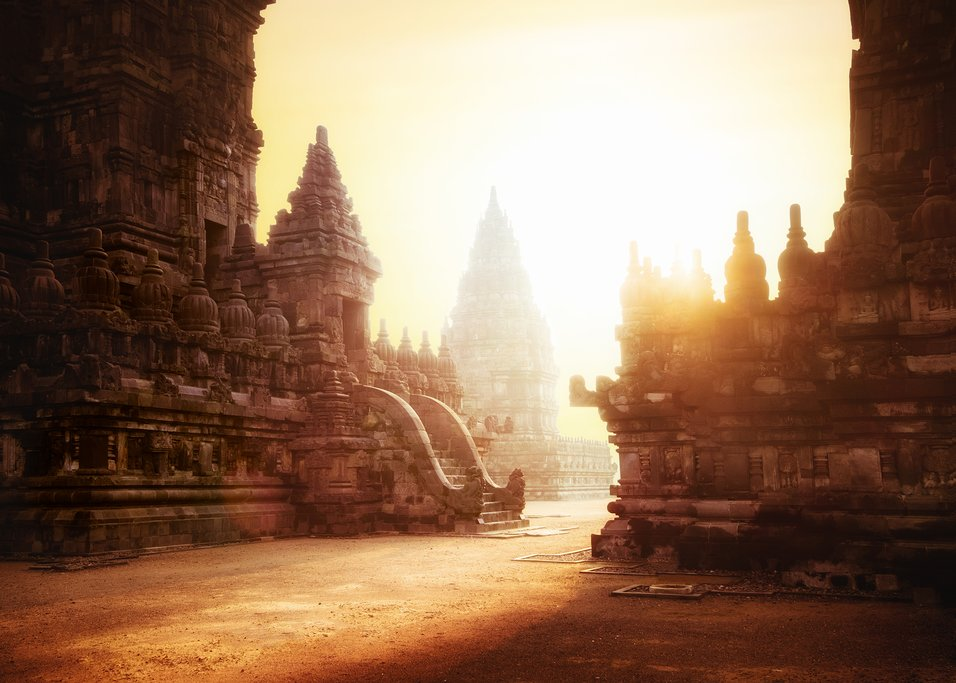Visit Prambanan temple early in the morning to get the best light