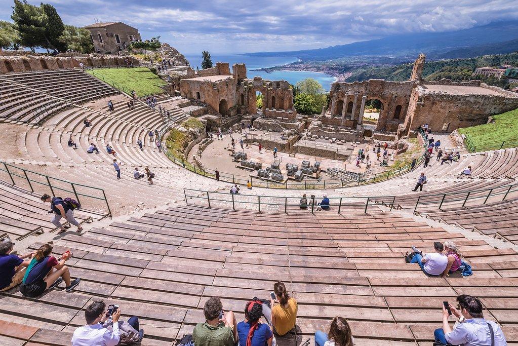 Greek-Roman Theatre of Taormina