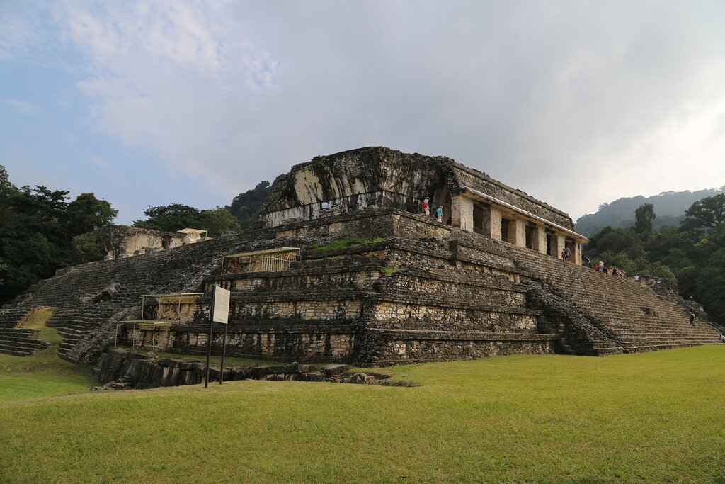 The abandoned city of Palenque