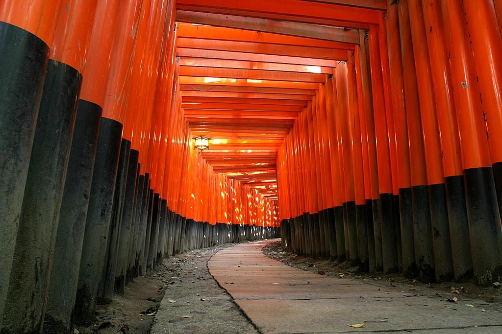 Fushimi Inari Temple in Kyoto