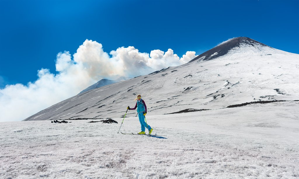 People even ski on Mt. Etna!