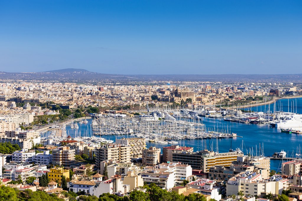 The city of Palma de Mallorca