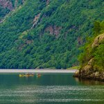 Geirangerfjord Kayaking and Fjord Farm Hike