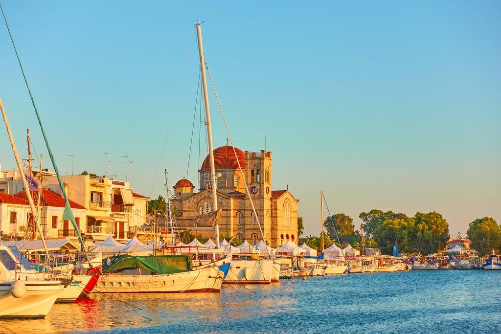 Waterfront Aegina Town