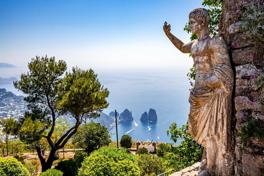 Sweeping views across Capri