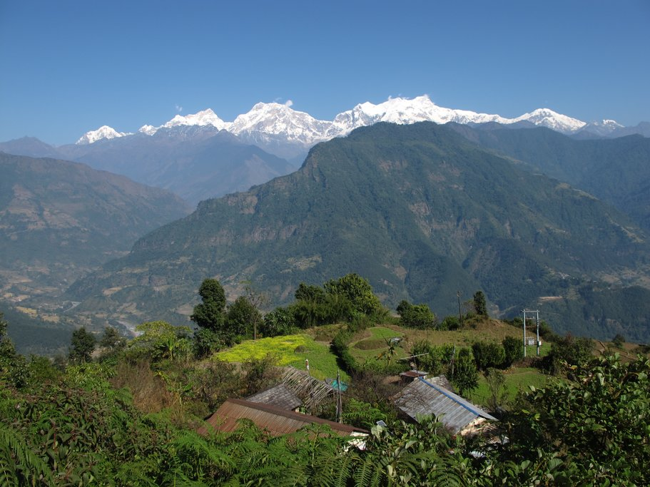 Part of the Annapurna Conservation Area