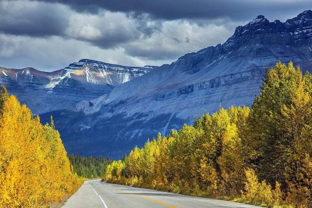 Fall in Banff National Park, Canadian Rockies