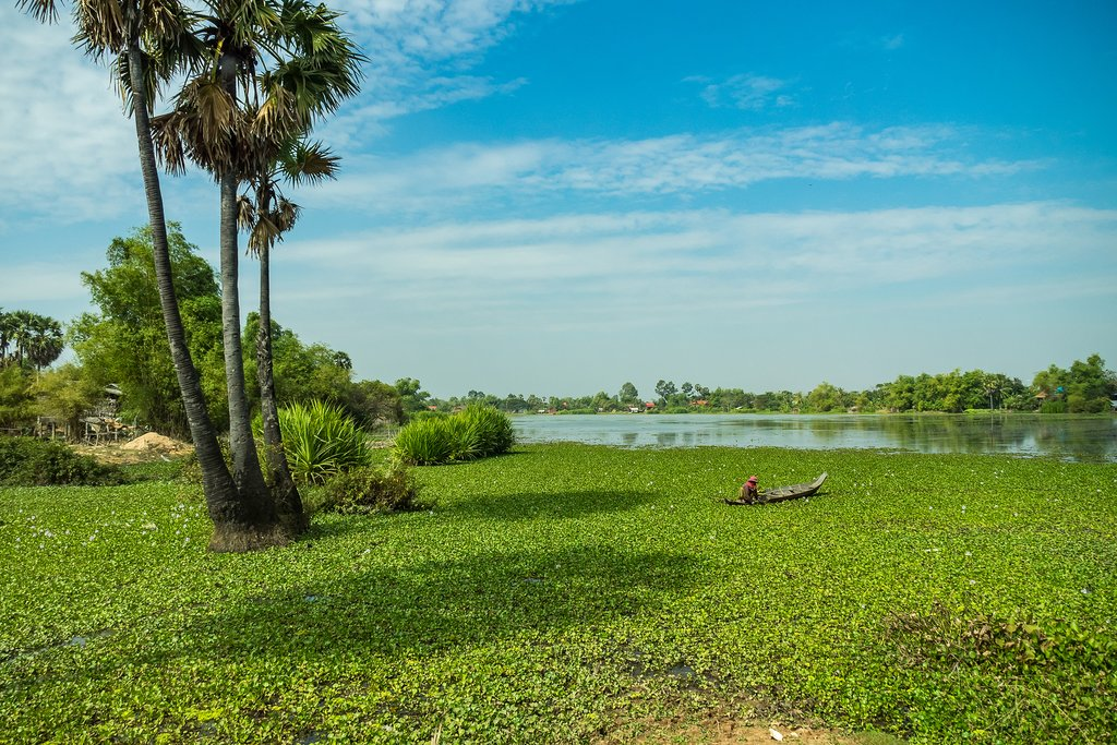 Take a tour through the beautiful Cambodian countryside