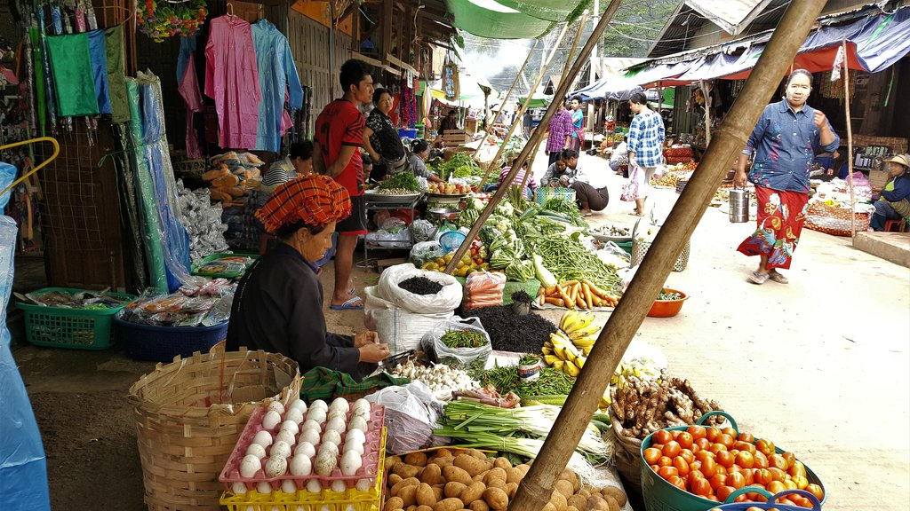 Vendors in the local market