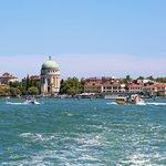 Lido di Venezia on a hot summer day