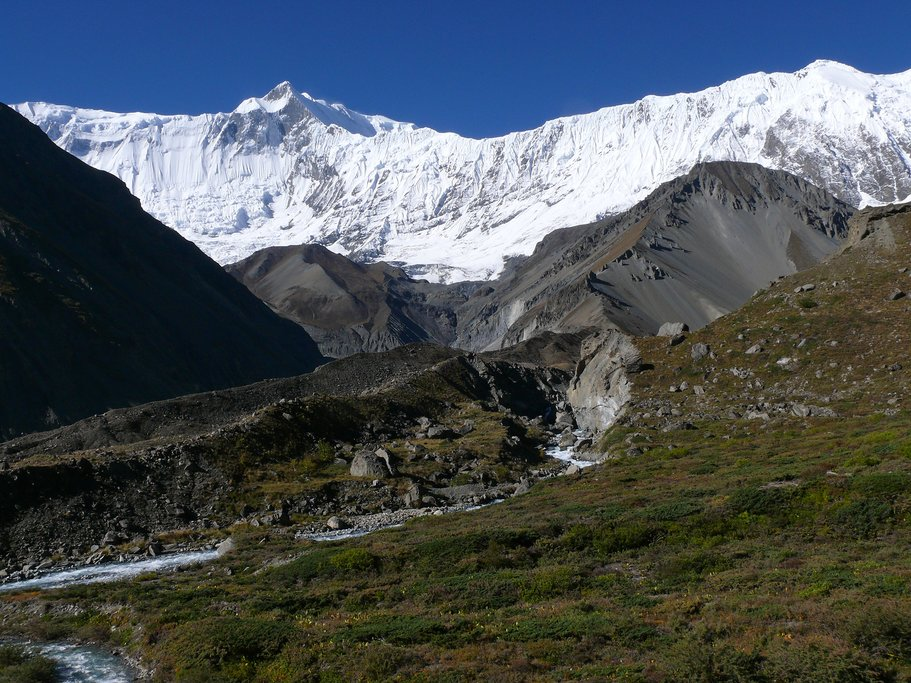 View from Tilicho Base Camp