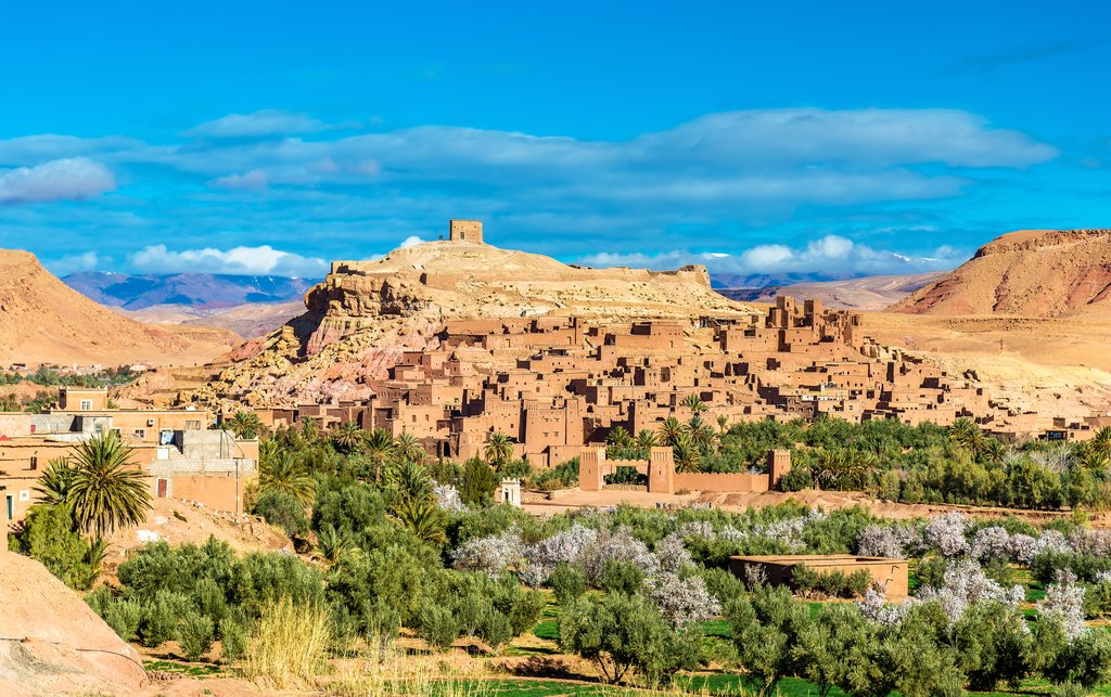 Aït Benhaddou, a UNESCO world heritage site in Morocco