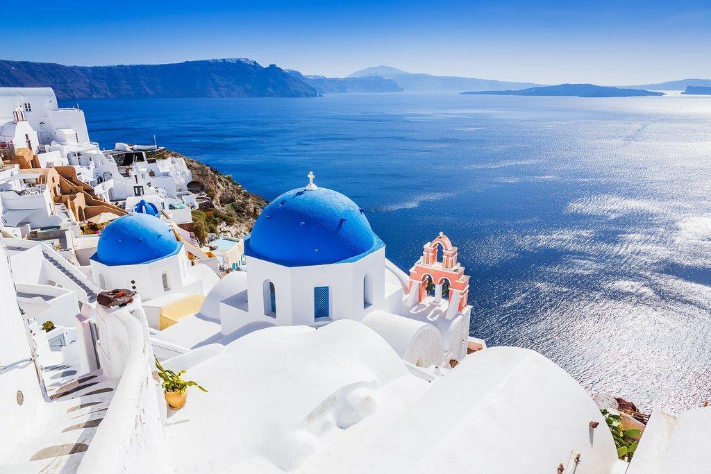 Beautiful Views on Santorini