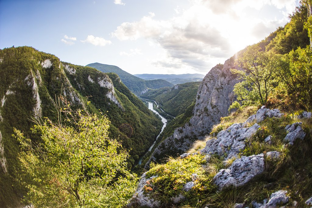 River Canyons in Bosnia and Herzegovina