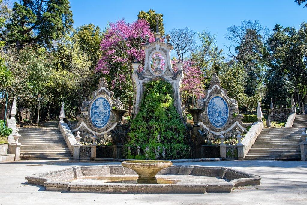 A romantic gardenscape in Coimbra