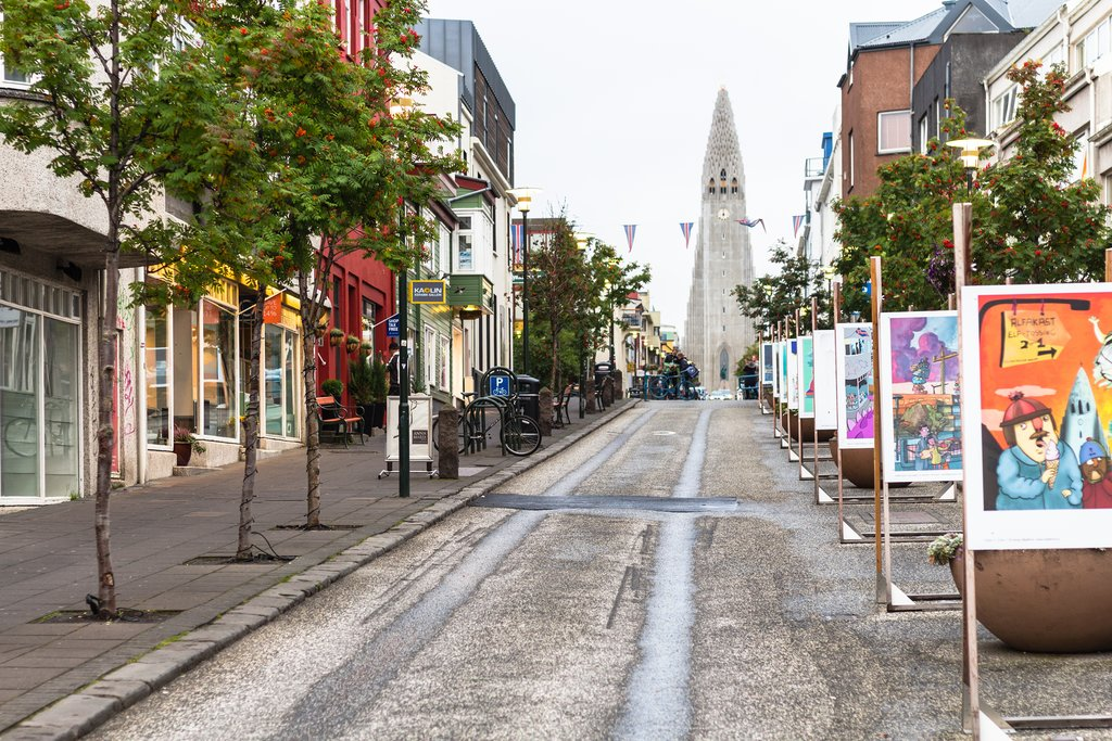 Walk the streets of Iceland's vibrant capital