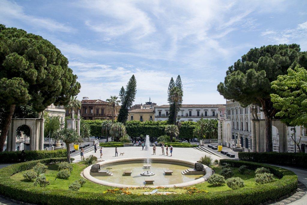 Italy - Siicly - Catania - Villa Bellini