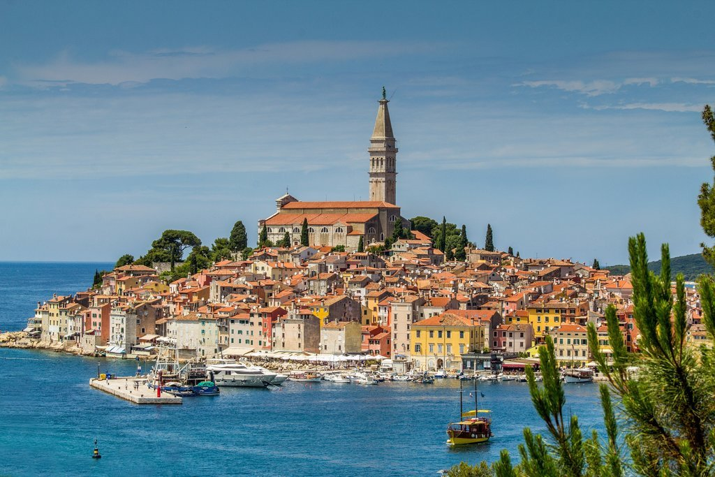 The colorful city of Rovinj