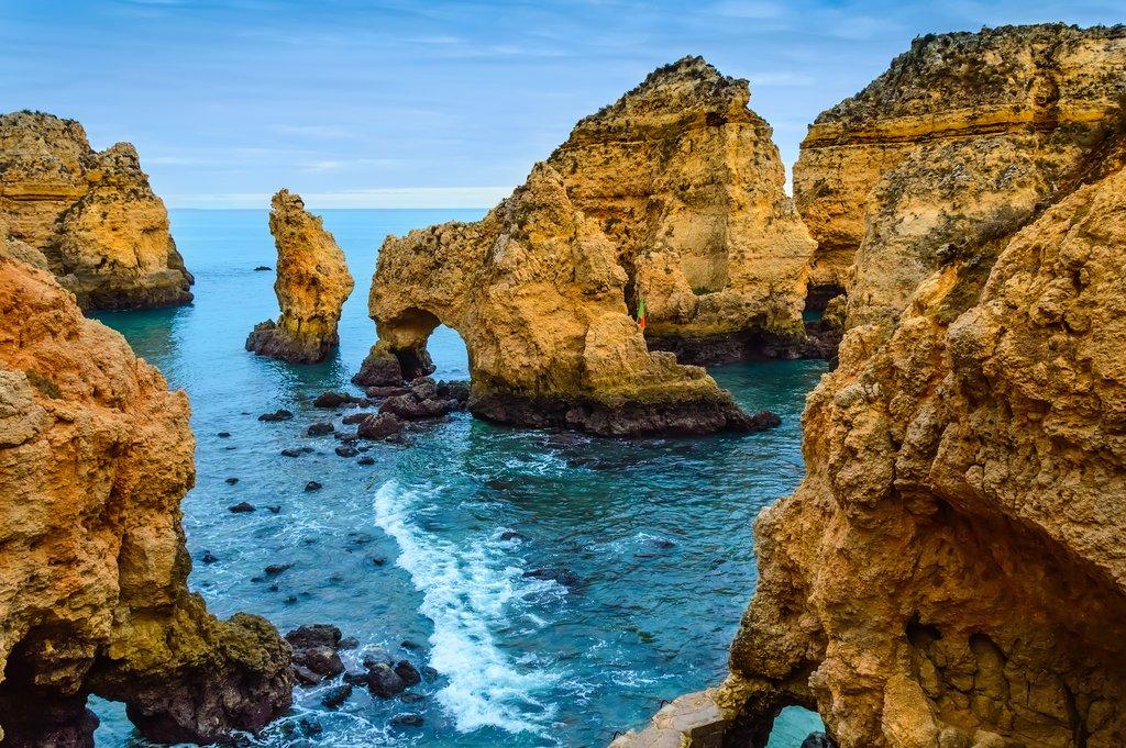 Algarve's Famous Seastacks
