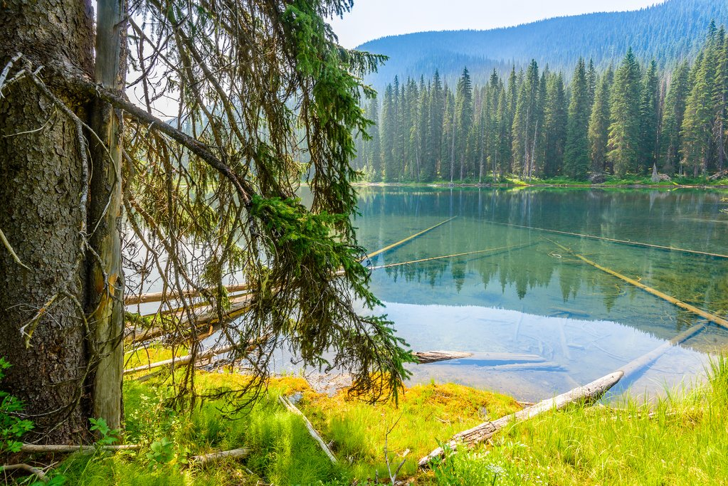 Lightning Lake in Manning Park