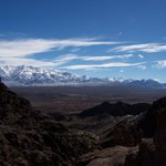 The mountains of Uspallata