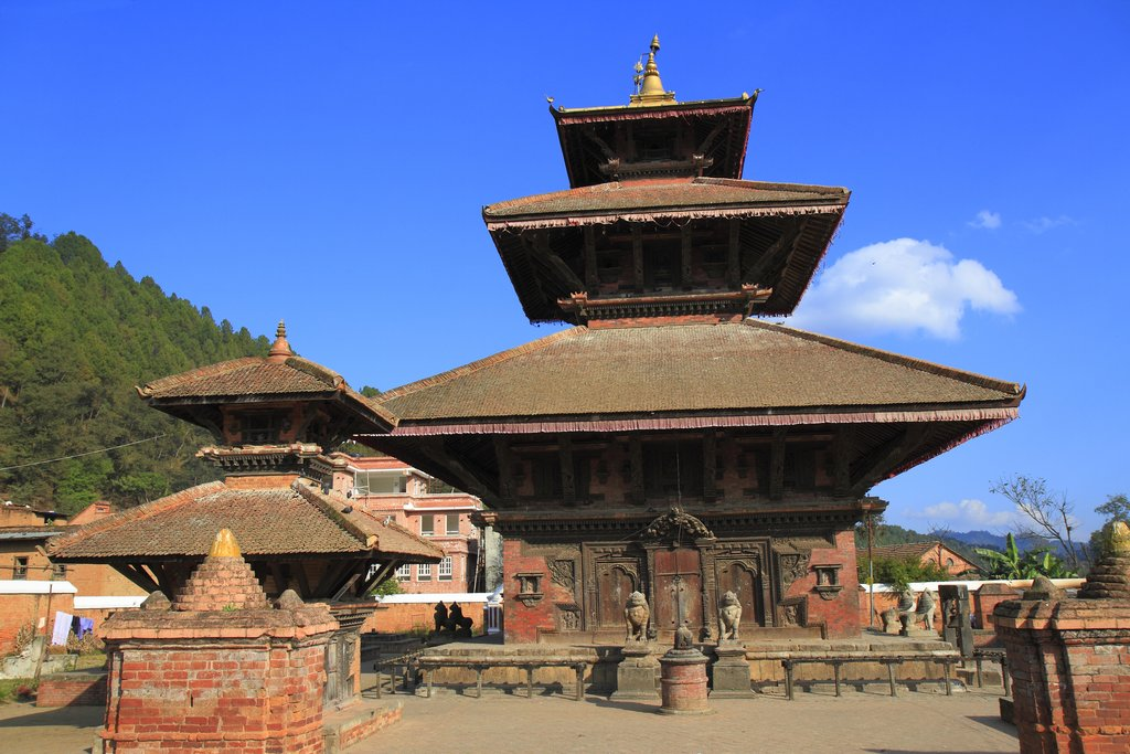 Panauti, one of the oldest villages in Nepal