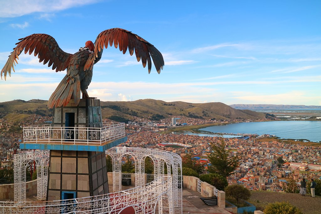 View of Puno from Condor Hill View Point