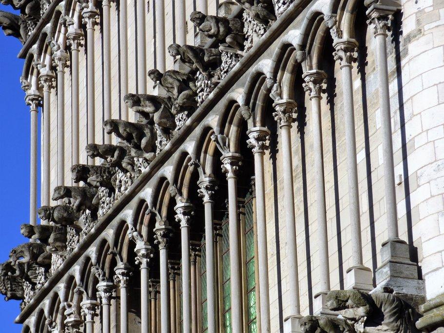 Notre Dame church in Dijon