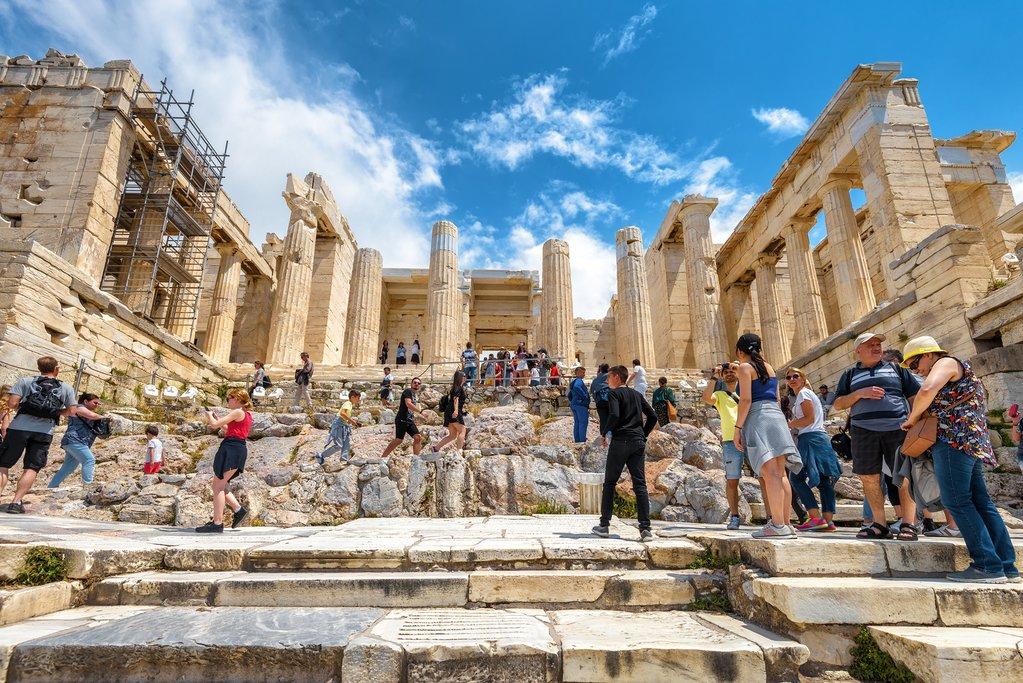 Propylaea, entrance to the Acropolis