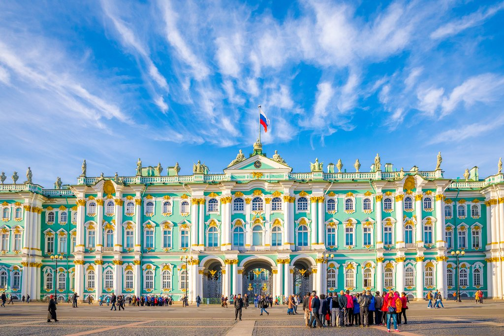 Hermitage State Museum in Winter Palace