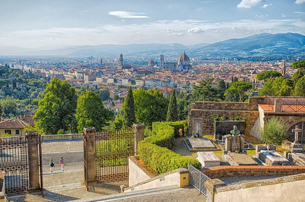 Florence from San Miniato al Monte Church