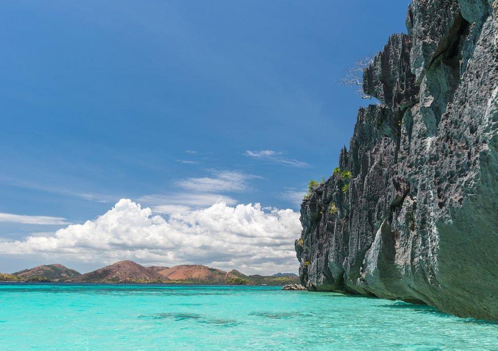 Coron Island beach Philippines