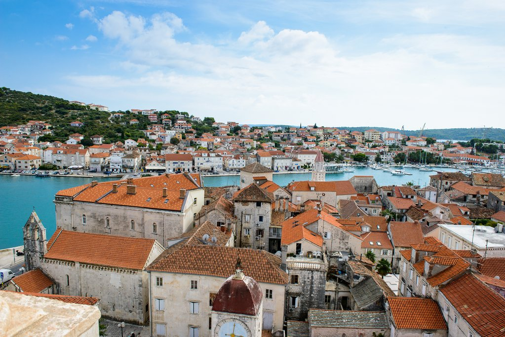 The UNESCO town of Trogir