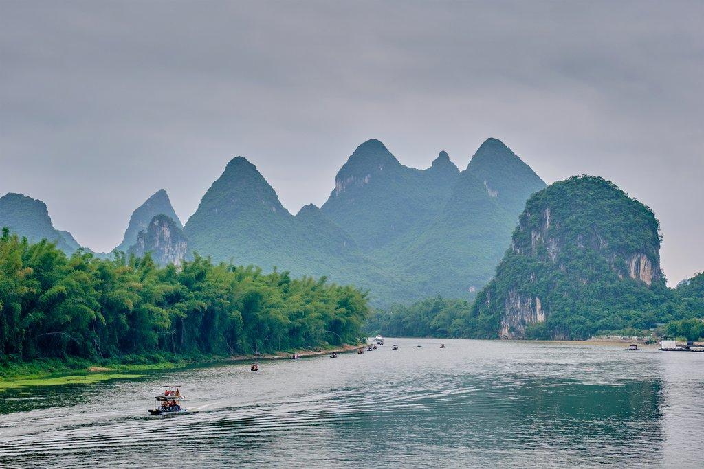 Best Scenery of Li River and Yangshuo