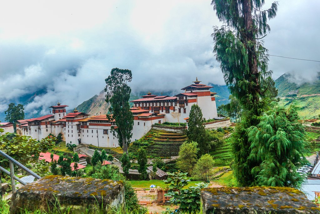 Trongsa Dzong, the largest fortress of its kind in the country