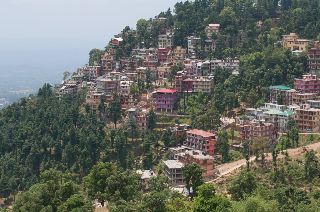 McLeod Ganj's lofty setting