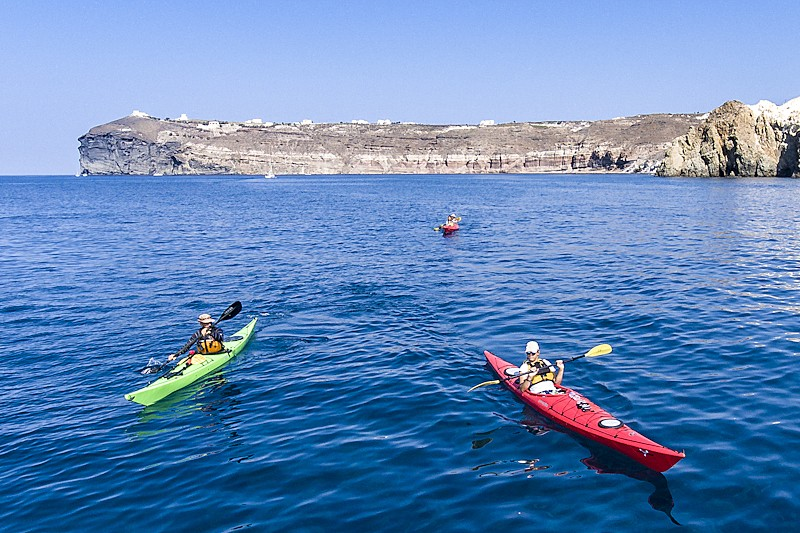 Take a sea kayaking tour off the south coast