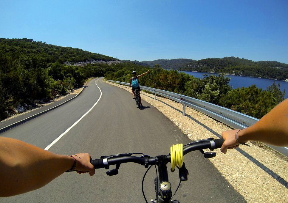 Cycling is a great way to explore Croatia