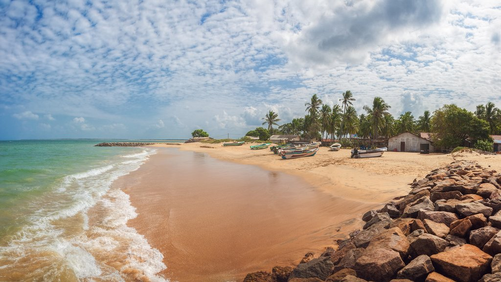 Spend your last few days relaxing on the sandy beaches of Kalpitiya