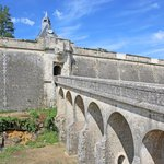 Bridge over the moat of Blaye Citadel