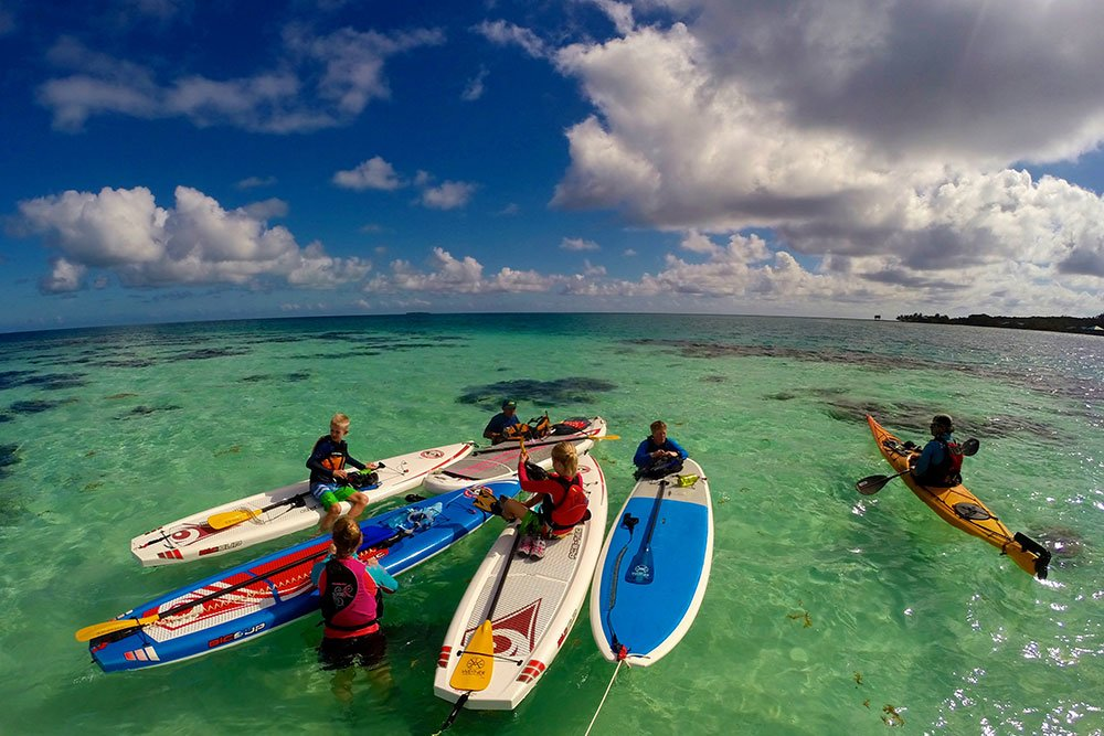 Paddle around Glover's Reef
