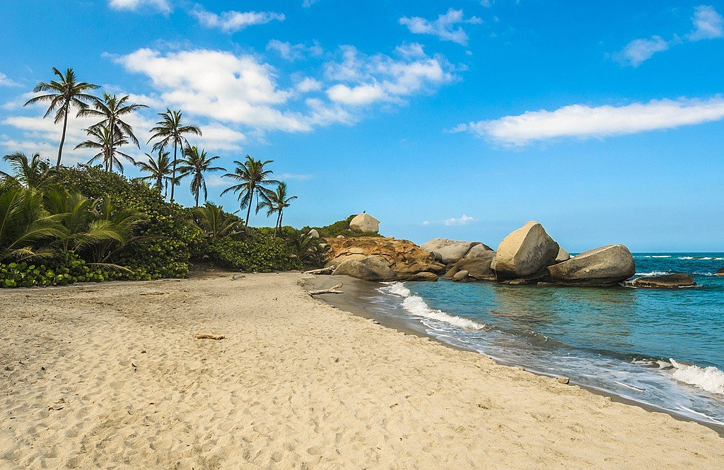 "Cabo de San Juan, the ""postcard image"" of Parque Tayrona"