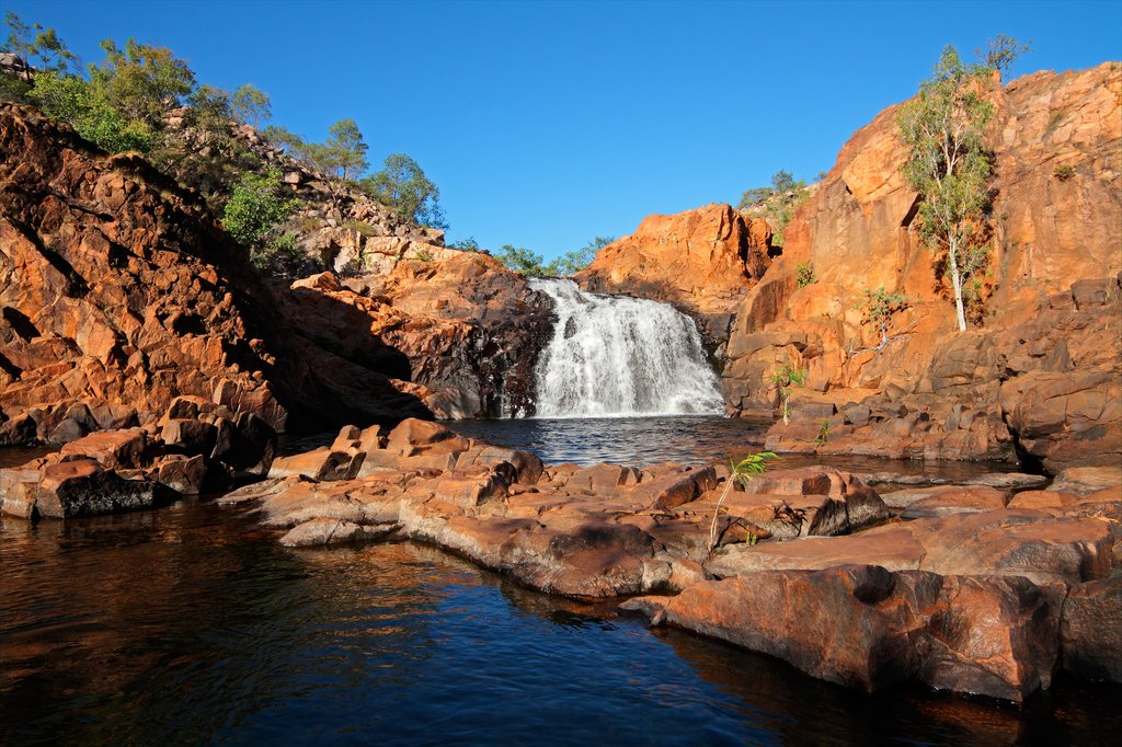 Kakadu National Park waterfall in Australia