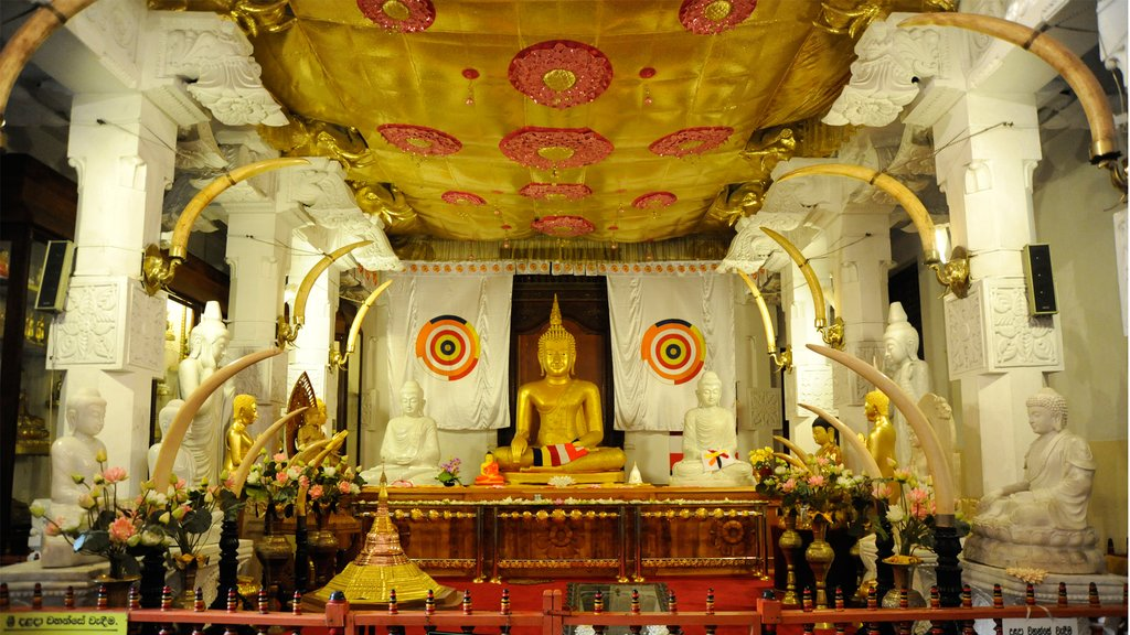 The Temple of the Tooth, Kandy.