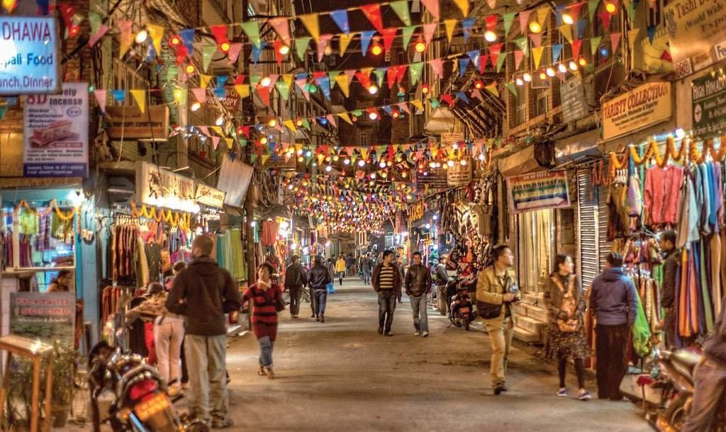 Thamel- a tourist hub of Kathmandu