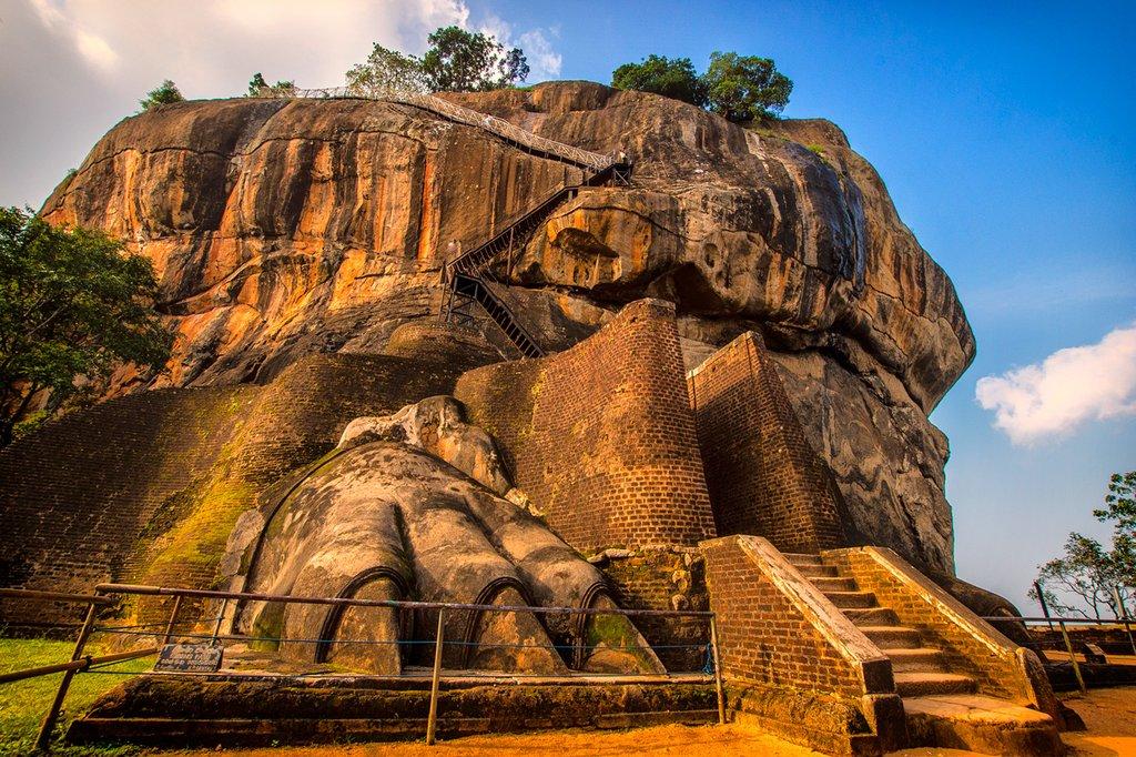 Lion's Paw at Sigiriya Rock Fortress