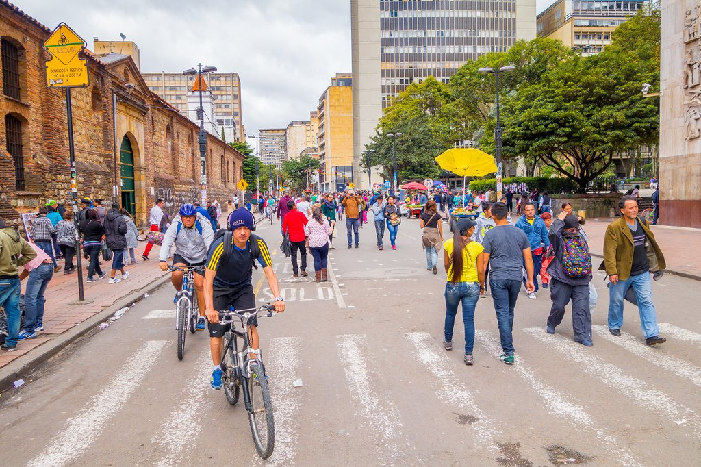 Explore Bogotá on two wheels