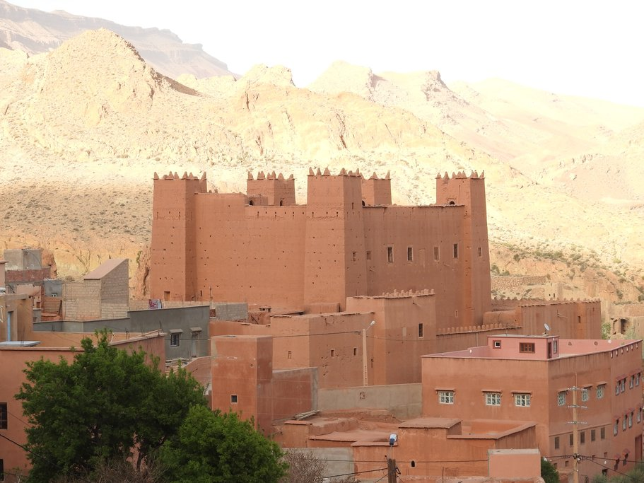 Kasbah in Dades Valley
