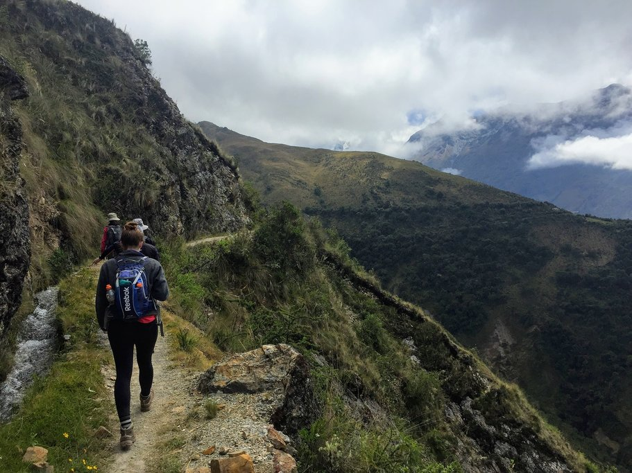 Hiking on the Inca Trail, Peru