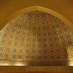 Stunning mosaic at a traditional hammam
